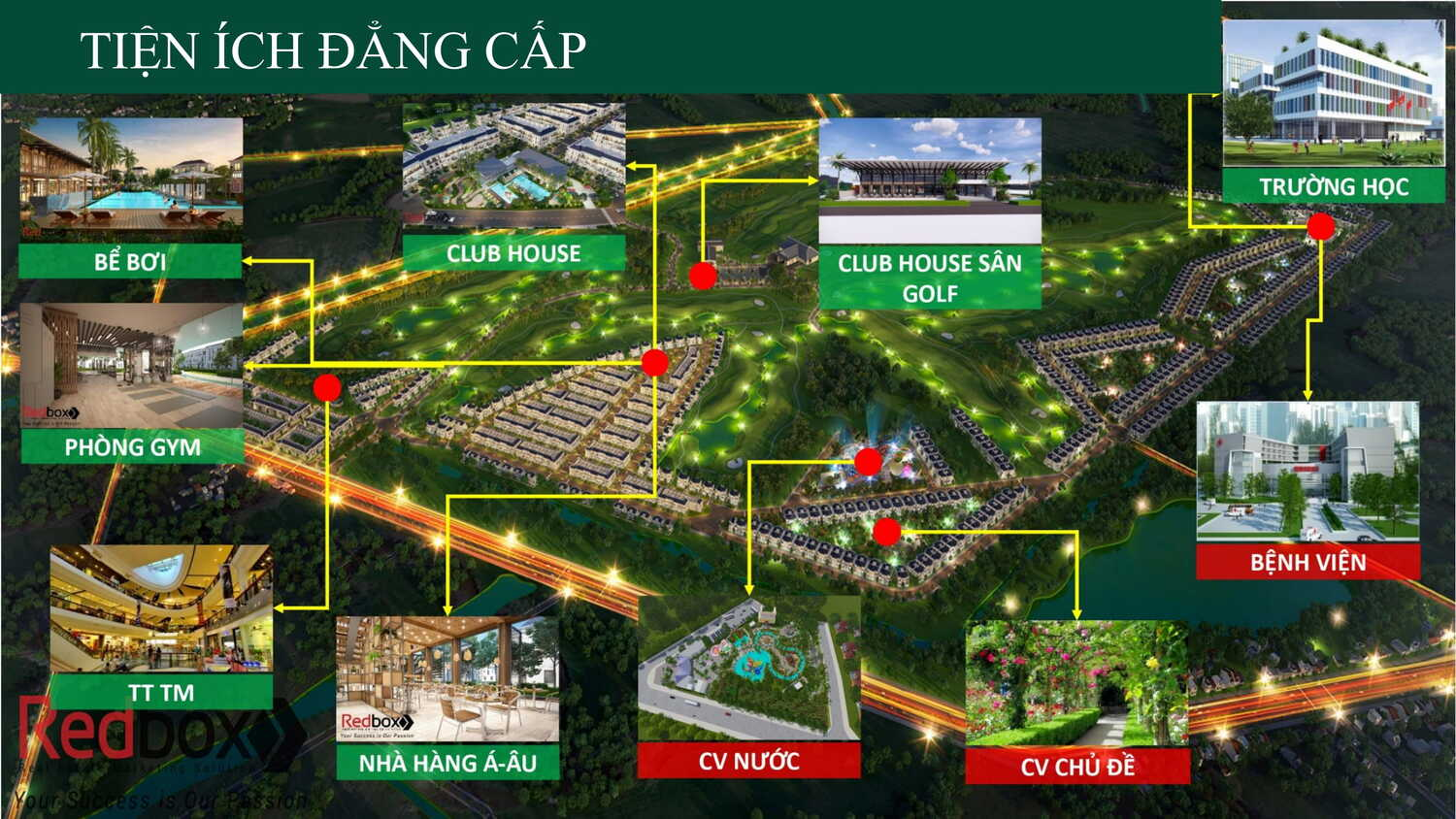 Dự án West Lakes Golf & Villas Long An